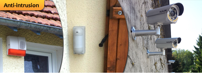 Anti-intrusion, installateur alarme, videosurveillance Paris 75, 77 ,89, 10, 91