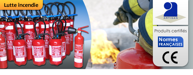 Installateur extincteur incendie Paris 75