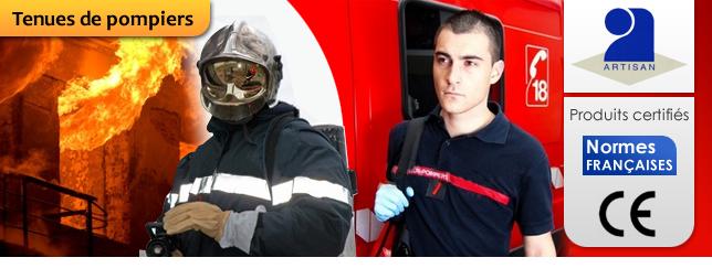 Tenues de pompiers de Paris 75