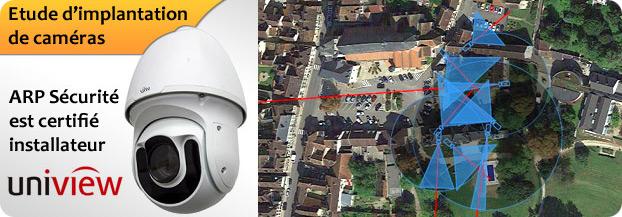 Etude implantation videosurveillance Paris / Yonne